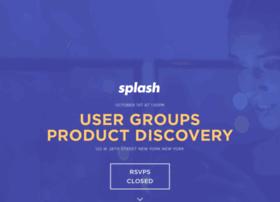 usergroupsproductdiscovery.splashthat.com