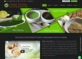 ushafoods.in