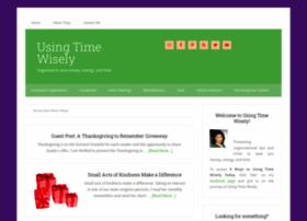 usingtimewisely.com