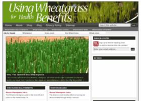 usingwheatgrass.com
