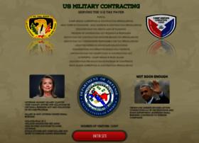 usmilitarycontracting.org