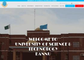 ustb.edu.pk