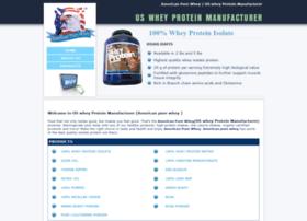 Uswheyproteinmanufacturer.com