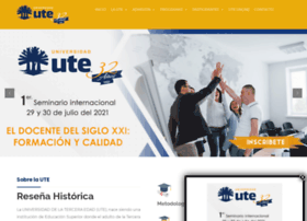 ute.edu.do