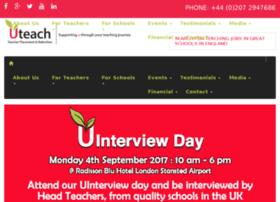 Uteachrecruitment.co.uk