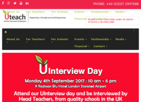uteachrecruitment.co.uk