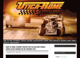 uticaromespeedway.com