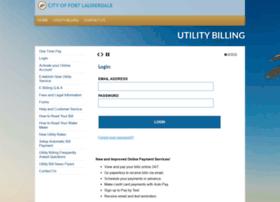 utilitybilling.fortlauderdale.gov