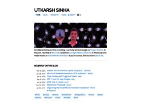 utkarshsinha.com
