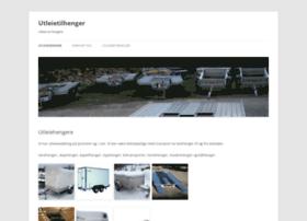 utleietilhenger.com