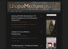 utopiamechanicus.com