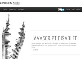 utrip.personalityhotels.com
