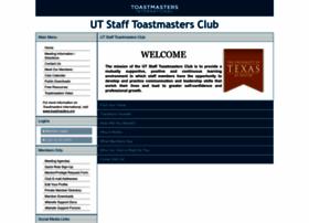 utstaff.toastmastersclubs.org