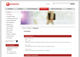 utstarcom.investorroom.com