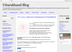 uttarakhand-blog.blogspot.in