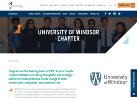 uwindsor.ewb.ca