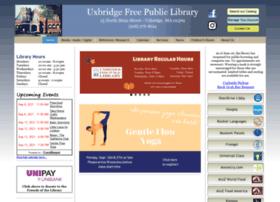 uxbridgelibrary.org