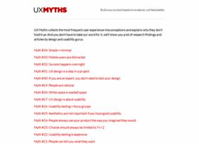 uxmyths.com