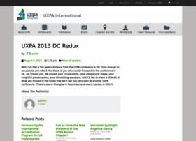uxpa2013.org