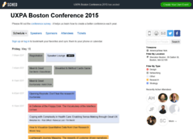 uxpabostonconference2015.sched.org