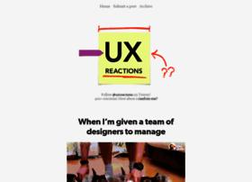 uxreactions.com