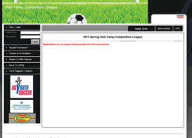 uysa-2013springuvcl.affinitysoccer.com