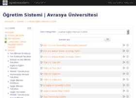 uzem.avrasya.edu.tr