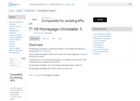 v9-homepage-uninstaller.updatestar.com