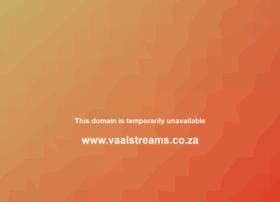 vaalstreams.co.za