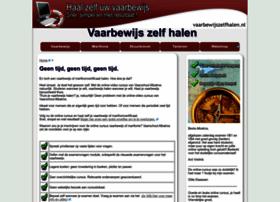 vaarbewijszelfhalen.nl