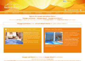 vacances-desert.com