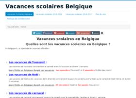 vacances-scolaires-belgique.be