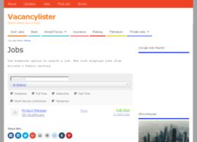 vacancylister.com