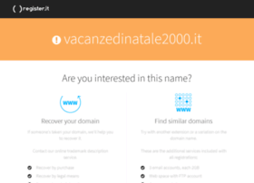 vacanzedinatale2000.it