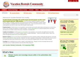vacationrentalscommunity.com