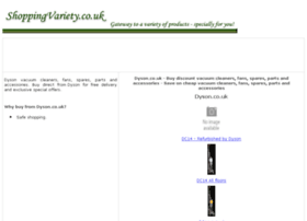 vacuum-cleaner-spare-parts.shoppingvariety.co.uk