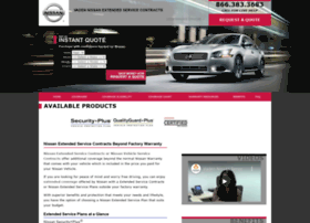 vadennissanservicecontracts.com