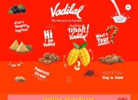 vadilalicecreams.com
