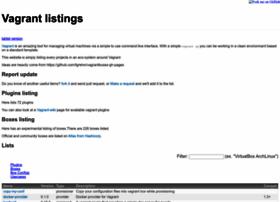 vagrant-lists.github.io