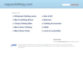vagueclothing.com