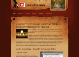 vaidyaconsulting.com