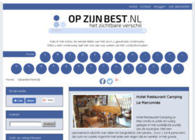 vakantie-frankrijk.opzijnbest.nl
