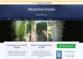 vakantie-huis-drenthe.com
