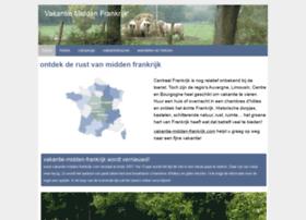vakantie-midden-frankrijk.com