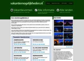vakantiemogelijkheden.nl