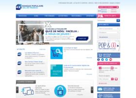 valdefrance.banquepopulaire.fr