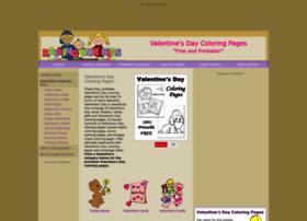 valentines-coloring.com