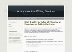 valentinewritingservices.com