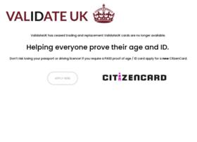 validateuk.co.uk