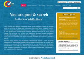 validfeedback.com